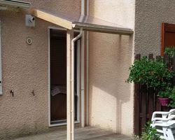 SARL FAUCHERAND ET LE GAL - Fontanil-Cornillon - Aménagement extérieur - Abri polycarbonate à St Egrève