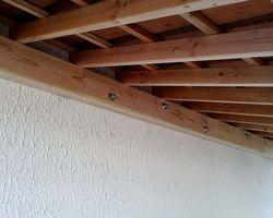 SARL FAUCHERAND ET LE GAL - Fontanil-Cornillon - Aménagement extérieur - Appentis bois