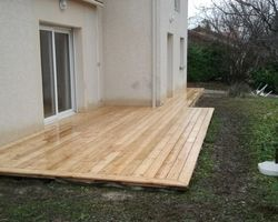 ERBOIS - Terrasse bois - Terrasse en Mélèze à Montbonnot