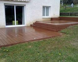 ERBOIS - Terrasse composite - Terrasse composite WEX à Coublevie