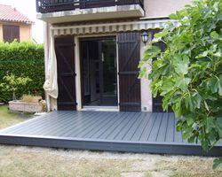 ERBOIS - Terrasse composite - Terrasse composite WEX à La Buisse