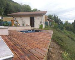 ERBOIS - Terrasse suspendue - Terrasse suspendue à Voiron