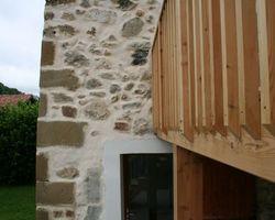 ERBOIS - Terrasse suspendue - Terrasse sur pilotis Mélèze à La Placette