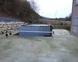 ERBOIS - Terrasse bois - Terrasse Pin Brun - tour de piscine