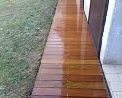 ERBOIS - Terrasse bois - Terrasse arrondie Ipé à Claix