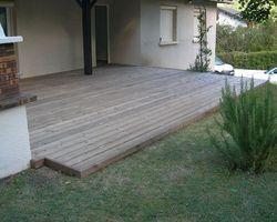 ERBOIS - Terrasse bois - Terrasse Pin Brun à Varces