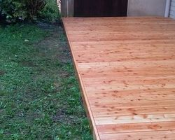 ERBOIS - Terrasse bois - Rénovation de terrasse mélèze Villard-Bonnot
