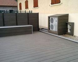 ERBOIS - Terrasse composite - Terrasse composite Megawood