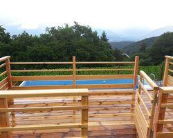 ERBOIS - Terrasse suspendue - Terrasse Mélèze à Seyssinet